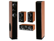 Wharfedale Obsidian 600 Cinema Pack Black Wood