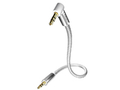 Inakustik Premium MP3 Audio Cable 90° 3.5 Phone plug 3.0m #00410403