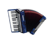 Hohner The New Bravo III 72 (A16641) dark blue