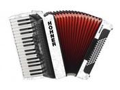 Hohner The New Bravo III 72 (A16611) white