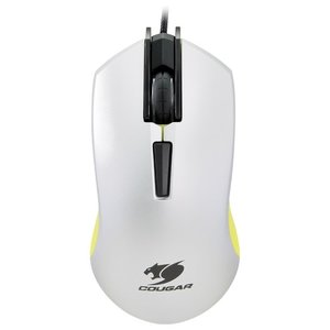 Мышь игровая COUGAR 230M White-Yellow USB